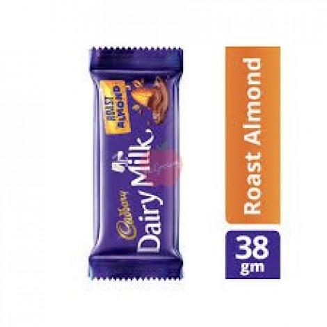 Cadbury Dairy Milk Roast Almond 38gm