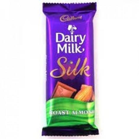 Cadbury Dairy Milk Silk Roast Almond 137gm
