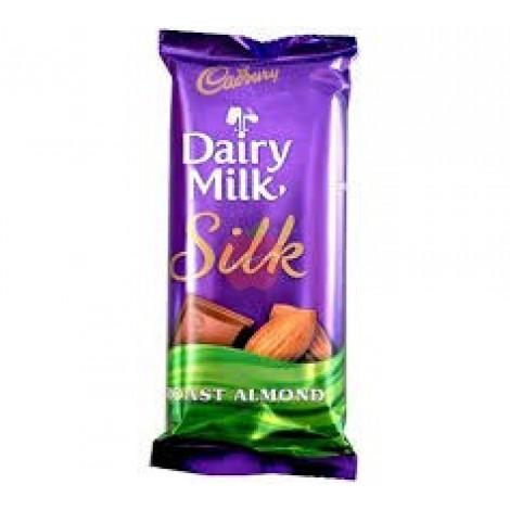 Cadbury Dairy Milk Silk Roast Almond 55gm