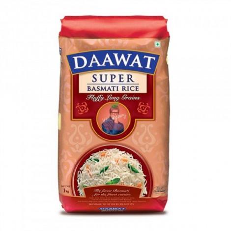 Daawat Basmati Rice Super 1kg