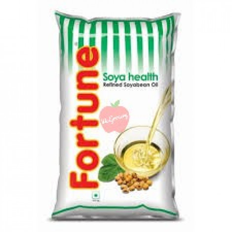 Fortune Soyabean Oil Pouch 1ltr