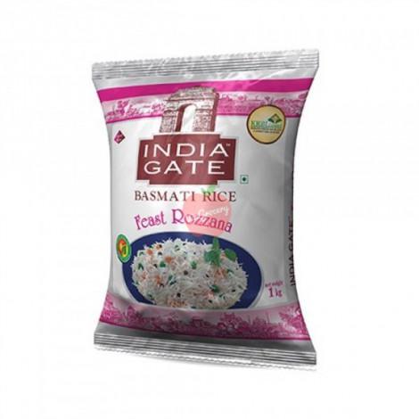 India Gate Basmati Rice Feast Rozzana 1kg