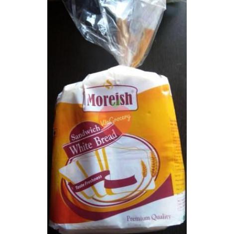 Moreish Sanwich White Bread 400gm