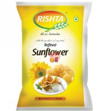 Rishta Sunflower Refined Oil 1ltr