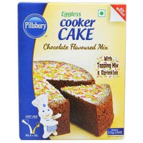 Pillsbury Eggless Cooker Cake Mix, Chocolate 159 gm