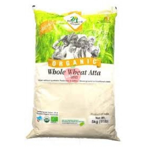 24 Mantra Organic Whole Wheat Atta 5kg