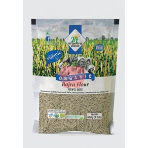 24 Mantra Organic Bajra Flour 500gm