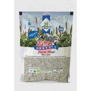 24 Mantra Organic Jowar Flour 500gm