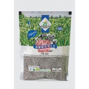24 Mantra Organic Ragi Flour 500gm