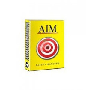 Aim Safety Match Boxes (Pack Of 10)