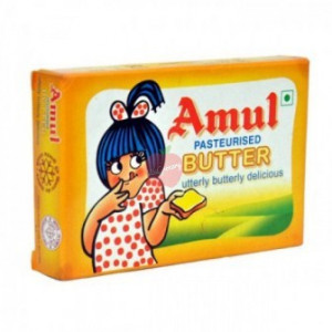 Amul Butter Pasteurized 100gm