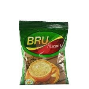 BRU INSTANT COFFE POLY 50GM