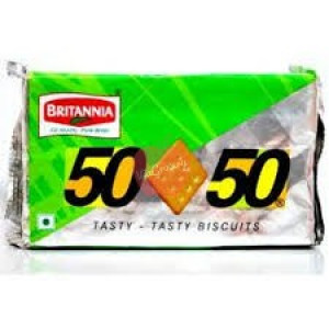 Britannia 50-50 - Biscuits 200 gm