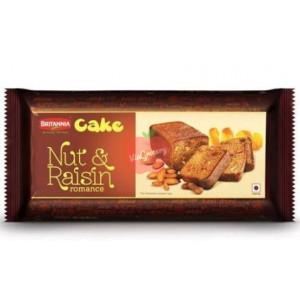 Britannia Cake Nut & Raisin Romance 150g