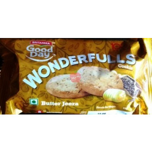 Britannia Good Day Wonderfulls Butter Jeera 75gm