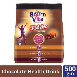 Cadbury Bournvita 5 Star Magic Inner Strength 500gm Pouch