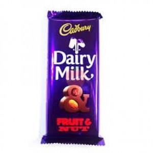 Cadbury Dairy Milk Fruit & Nut 38gm