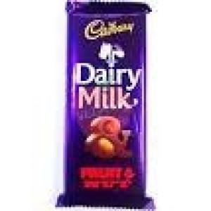 Cadbury Dairy Milk Fruit & Nut 80gm