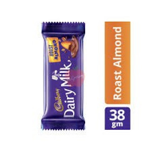 Cadbury Dairy Milk Roast Almond 38gm