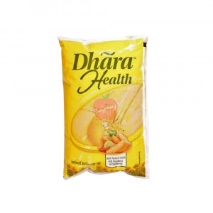 Dhara Health Refined Sunflower Oil 1Litre