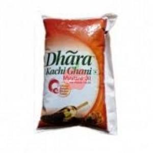 Dhara Kachi Ghani Mustard Oil 1ltr