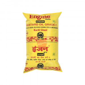 Engine Brand Kachi Ghani Mustard Oil 1 Litre