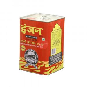 Engine Brand Kachi Ghani Mustard Oil 5 Litre