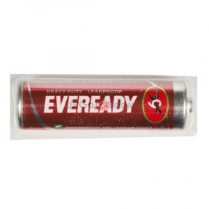 Eveready AA Heavy Duty Red Battery