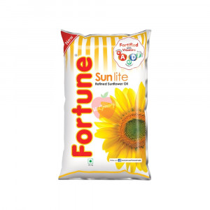 Fortune Sunlite Refined Sunflower Oil 1Litre