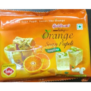 Haldiram Prabhuji Orange Soan Papdi 200gm