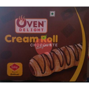 Haldirams Prabhuji Cream Roll Chocolate 400gm