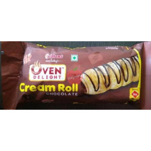 Haldirams Prabhuji Cream Roll Chocolate 40gm