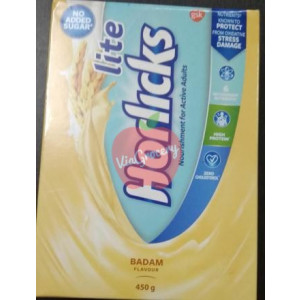 Horlicks Lite Badam Flavour Refil 450gm