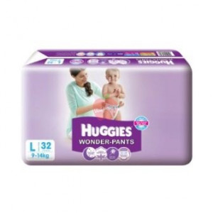 Huggies Wonder Pants L 32pc