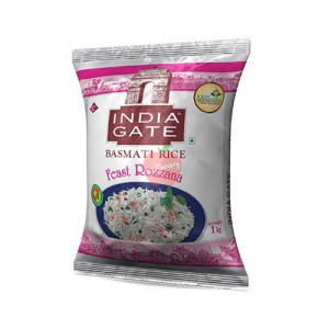 India Gate Basmati Rice Feast Rozzana 1kg
