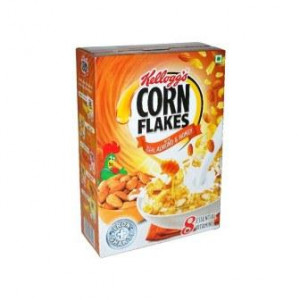 Kelloggs Real Almond & Honey Corn Flakes(Carton) 650gm