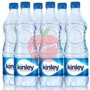 Kinley Water Bottle 1 Ltr(Pack of 6)