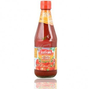 Kissan Ketchup Without Onion Garlic 200gm