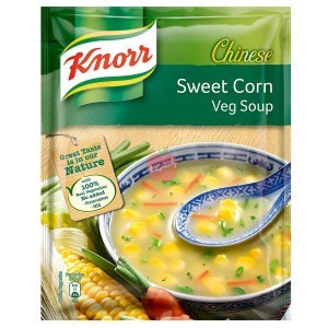Knorr Chinese Sweet Corn Vegetable Soup 44gm