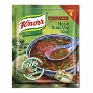 Knorr Cup A Soup Hot & Sour Veg 16gm