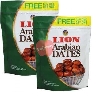 Lion Arabian Dates 500gm Buy1 Get 1 Free