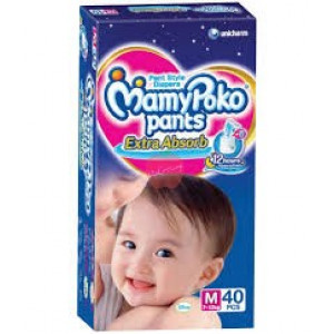 Mamy Poko Pants M 40pc