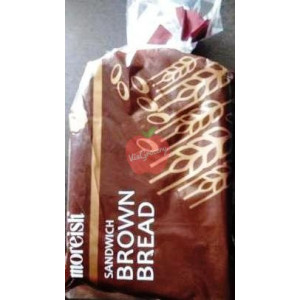 Moreish Sandwich Brown Bread 400gm