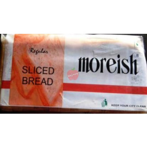 Moreish Sliced Bread Regular 400gm