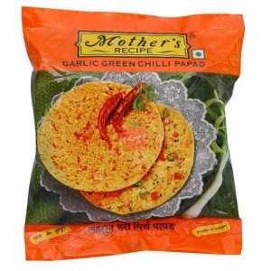 Mothers Recipe Green Chilli Papad 200gm