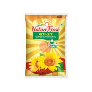 Nature Fresh Sunflower Oil Actilite 1ltr