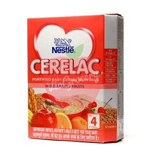 Nestle Cerelac Multigrain Fruits Stage 4 300gm