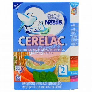 Nestle Cerelac Rice Vegetables Stage 2 300gm