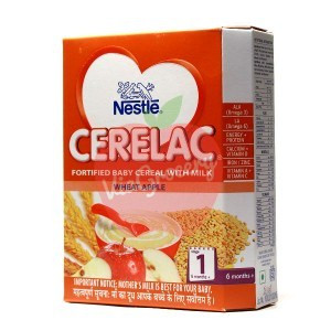 Nestle Cerelac Wheat Apple Stage 1 300gm