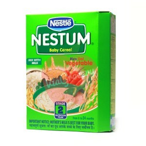 Nestle Nestum Rice Dal Vegetable Stage-2 300gm